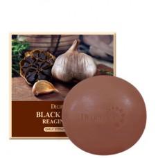 Deoproce Soap black garic - Мыло с экстрактом черного чеснока 100гр
