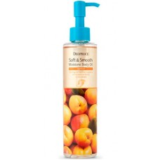 Deoproce Soft & smooth body oil apricot - Смягчающее масло с абрикосом для тела 200мл