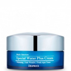 Deoproce Special water plus cream - Крем для лица увлажняющий 100гр
