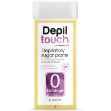 Depiltouch Depilatory Sugar Paste №0 BANDAGE - Сахарная паста для депиляции БАНДАЖНАЯ в катридже 100мл