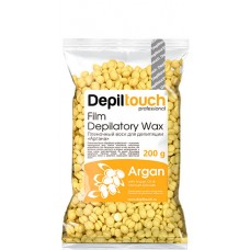 Depiltouch Film Depilatory Wax ARGAN - Горячий гранулированный плёночный воск АРГАНА 200гр