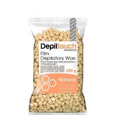 Depiltouch Film Depilatory Wax NATURAL - Горячий гранулированный плёночный воск НАТУРАЛЬНЫЙ 200гр