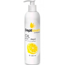 Depiltouch Skin Care OIL post-depil with ORANGE - Масло с экстрактом лимона после депиляции 300мл