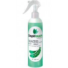 Depiltouch Skin Care WATER post-depil with CUCUMBER - Вода косметическая с экстрактом ОГУРЦА 300мл