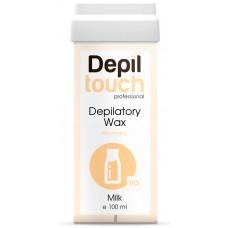 Depiltouch Depilatory Wax Aromatic MILK - Тёплый воск для депиляции Ароматический МОЛОКО 100мл