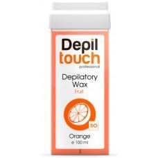 Depiltouch Depilatory Wax Fruit ORANGE - Тёплый воск для депиляции Фруктовый АПЕЛЬСИН 100мл