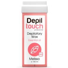 Depiltouch Depilatory Wax Essential Oil MELISSA - Тёплый воск для депиляции с Эфирными маслами МЕЛИССА 100мл