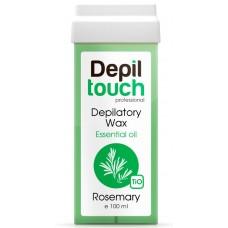 Depiltouch Depilatory Wax Essential Oil ROSEMARY - Тёплый воск для депиляции с Эфирными маслами РОЗМАРИН 100мл