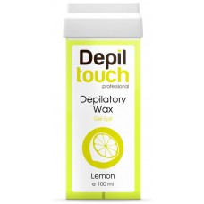 Depiltouch Depilatory Wax Gel Apil LEMON - Тёплый воск для депиляции Гелевый ЛИМОН 100мл