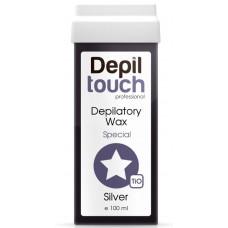 Depiltouch Depilatory Wax Special SILVER - Тёплый воск для депиляции Специальный СЕРЕБРО 100мл