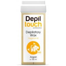 Depiltouch Depilatory Wax Vegetal Oil ARGAN - Тёплый воск для депиляции с натуральным маслом АРГАНЫ 100мл