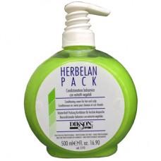 DIKSON HERBELAN PACK - Растительный бальзам с ментолом, маслами ромашки и мальвы 500мл