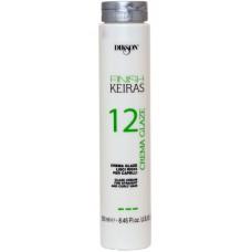 DIKSON KEIRAS FINISH CREMA GLAZE 12 - Глазурь для гладких и кудрявых волос 250мл