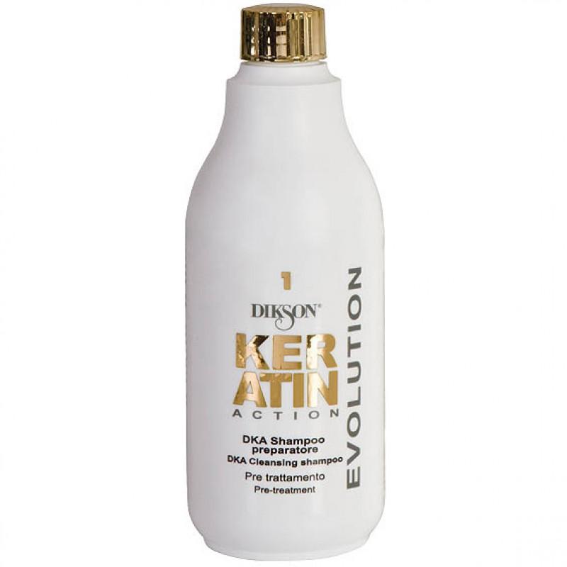 DIKSON KERATIN ACTION DKA Cleansing Shampoo Pre-Treatment