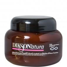 DIKSONatura Mask with Rose Hips - Маска с ягодами красного шиповника для окрашенных и химически обработанных волос 250мл