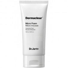 Dr.Jart+ Dermaclear micro-mousse cleansing foam - Пенка для умывания мягкая с био-водой 120мл