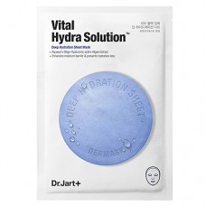Dr.Jart+ Dermask water jet vital hydra solution - Маска увлажняющая с гиалуроновой кислотой 27гр
