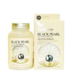 Eco Branch BLACK PEARL all In one ampoule - Сыворотка ампульная для лица с черным жемчугом 250мл