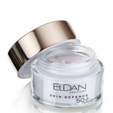 ELDAN premium Pepto Skin Defence Peptides Cream 50+ - Пептидный крем для зрелой кожи всех типов 50+, 50мл