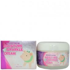 Elizavecca Moisture sparkle cream - Крем для лица увлажняющий СИЯНИЕ 100мл
