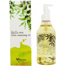 Elizavecca Natural 90% Olive cleansing oil - Масло гидрофильное для снятия макияжа 300мл