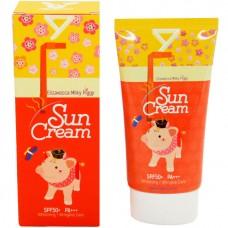 Elizavecca SPF50+ PA+++ Milky piggy sun cream - Крем солнцезащитный для лица СЗФ 50, 50мл