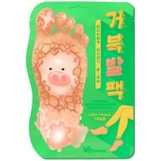 Еlizavecca Witch piggy hell pore turtle's foot pack - Маска-носочки для ног 80мл