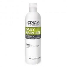 EPICA Professional DAILY CARE SHAMPOO - Шампунь для ежедневного использования с маслом бабассу и экстрактом зеленого чая 300мл
