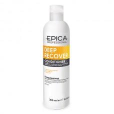 EPICA Professional DEEP RECOVER CONDITIONER - Кондиционер для поврежденных волос с маслом сладкого миндаля и экстрактом ламинарии 300мл