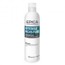 EPICA Professional INTENSE MOISTURE SHAMPOO - Увлажняющий шампунь для сухих волос с маслом какао и экстрактом зародышей пшеницы 300мл
