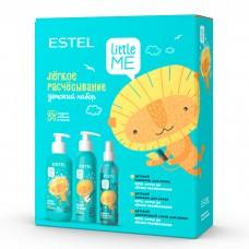 """Estel Little Me - Детский набор """"Лёгкое расчесывание"""" (шампунь + бальзам + двухфазный спрей) 300 + 250 + 200мл"""