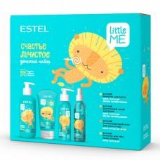 """Estel Little Me - Детский набор """"Счастье лучистое"""" (шампунь + двухфазный спрей + солнцезащитный крем + молочко для тела) 300 + 200 + 150 + 150мл"""