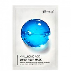 Esthetic House mask Hyaluronic acid super aqua - Маска тканевая гиалуроноая кислота 25мл