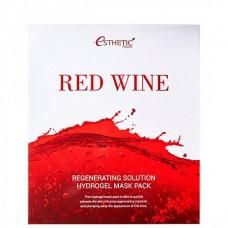 Esthetic House Mask Red wine regenerating solution - Маска гидрогелевая с экстрактом красного вина 28мл