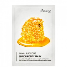 Esthetic House mask Royal propolis enrich honey - Маска тканевая мед и прополис 25мл