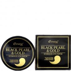 Esthetic House Patch Black pearl&gold hydrogel eye patch - Патчи с черным жемчугом и золотом 60шт