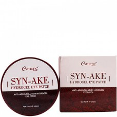 Esthetic House Patch Syn-Ake hydrogel eye patch - Гидрогелевые патчи со змеиным пептидом 60шт
