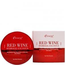 Esthetic House Patch Red wine hydrogel eye patch - Патчи с экстрактом красного вина 60шт