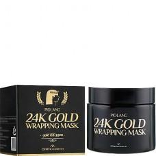 Esthetic House Piolang 24K Gold wrapping mask - Маска-плёнка для лица с 24 каратным золотом 80мл