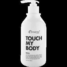 Esthetic House Touch my body goat milk body wash - Гель для душа на основе козьего молока 500мл