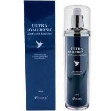 Esthetic House Ultra hyaluronic bird's nest Emulsion - Эмульсия для лица с экстрактом ласточкиного гнезда и гиалуроновой кислотой 130мл