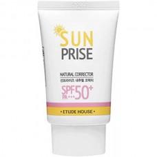 Etude House SUN PRISE Natural corrector SPF50+ Pa+++ - Крем для кожи солнцезащитный 50мл