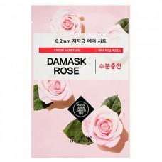 ETUDE HOUSE Therapy air mask DAMASK ROSE - Маска тканевая с ЭКСТРАКТОМ ДАМАССКОЙ РОЗЫ 20мл