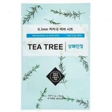ETUDE HOUSE Therapy air mask TEA TREE - Маска для лица тканевая c ЭКСТРАКТОМ ЧАЙНОГО ДЕРЕВА 20мл