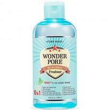 ETUDE HOUSE WONDER PORE Feshner 10in1 - Тоник для очищения пор и акне 10 в 1, 250мл