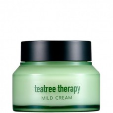 EUNYUL teatree therapy MILD CREAM - Крем для проблемной кожи с экстрактом чайного дерева 70мл