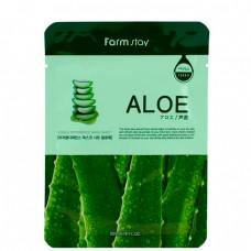 FarmStay Visible difference mask sheet aloe - Маска тканевая с экстрактом алоэ 23мл