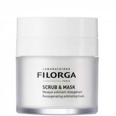 FILORGA SCRUB & MASK Masque Exfoliant Reoxygenant - Отшелушивающая маска для лица Оксигенирующая 55мл
