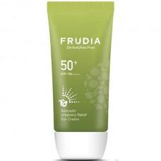 FRUDIA SPF50+/PA++++ Avocado Greenery Relief Sun Cream - Крем солнцезащитный для лица с АВОКАДО 50мл