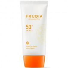 FRUDIA SPF50+/PA++++ Tone UP Base Sun Cream - Солнцезащитный крем для сияния кожи 50мл